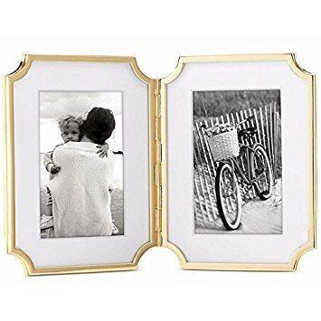 Kate Spade Sullivan Street Gold 4 x 6 Double Frame