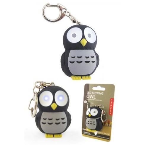 $8.99 Kikkerland LED Owl Keychain