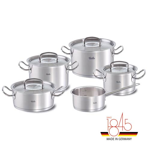 $649.95 Original-Profi Collection 9-Piece Cookware Set with Stainless Steel Lids