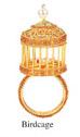 $56.00 Birdcage Napkin Ring S/4