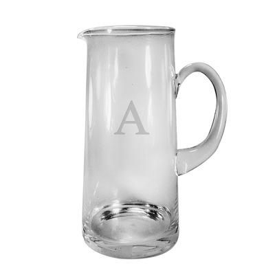 $50.00 Glass Pitcher - Monogram