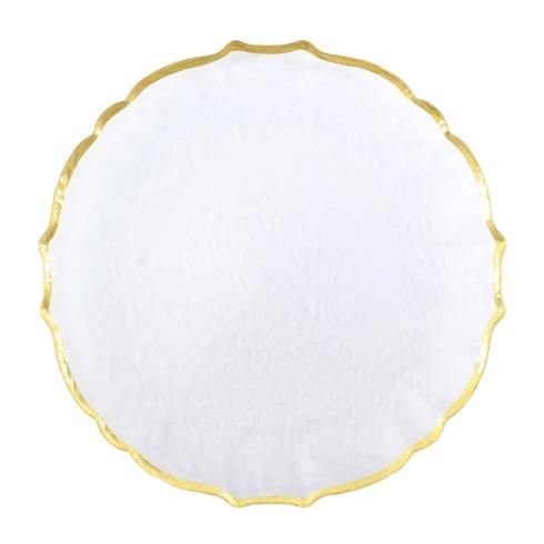Vietri Baroque Glass Service Plate/Charger