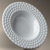 Aegean White Soup/Pasta Bowl collection with 1 products