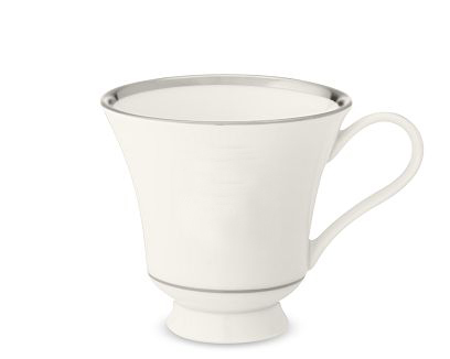 $88.00 Signature Plain Cup and Saucer / Margaret Cup
