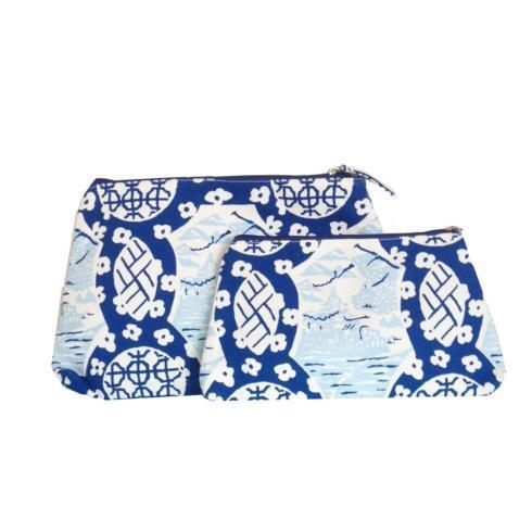 $30.00 Canton Blue Travel Bag Small