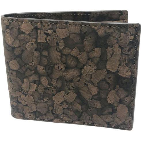 $54.00 Bilfold Cork Wallet- Brown
