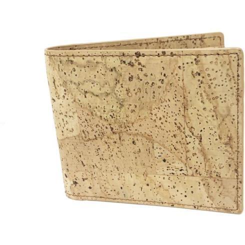 $54.00 Billfold Cork Wallet- Natural