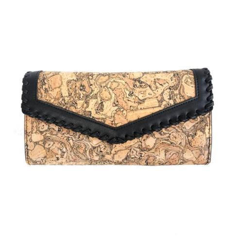 $80.00 Envelope Cork Wallet- Chunk