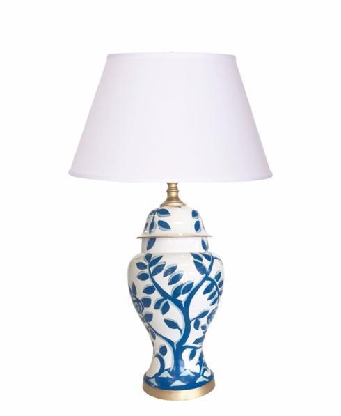 $545.00 Cliveden Blue Lamp