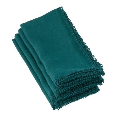 $36.50 Pompom Design Runner (Jasper Green)