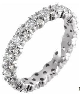 $3,643.00 Diamond Eternity Band, 1.75ctw
