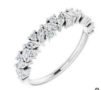 $1,489.00 Diamond Anniversary Band