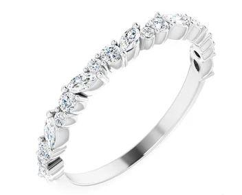 $1,075.00 Diamond Anniversary Band, 3/8 ctw