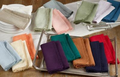 Pompom Design Napkin (Olive) collection with 1 products