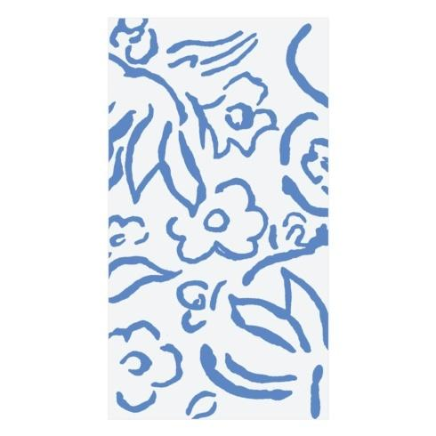 $7.00 Guest Towel- Matisse Blue