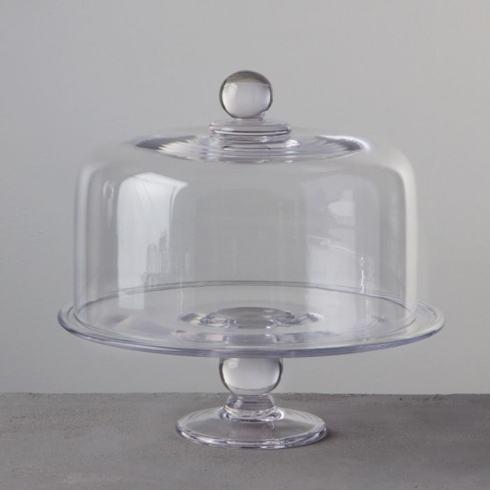 $460.00 Hartland Cakeplate and Dome Set
