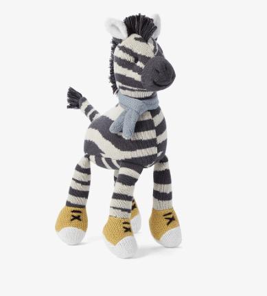 """Elegant Baby   Zebra Toy- 10"""" $24.00"""