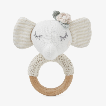 Princess Elephant Ring Rattle collection with 1 products