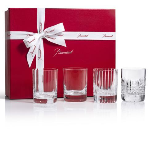 $490.00 Four Elements Double Old Fashion set of 4