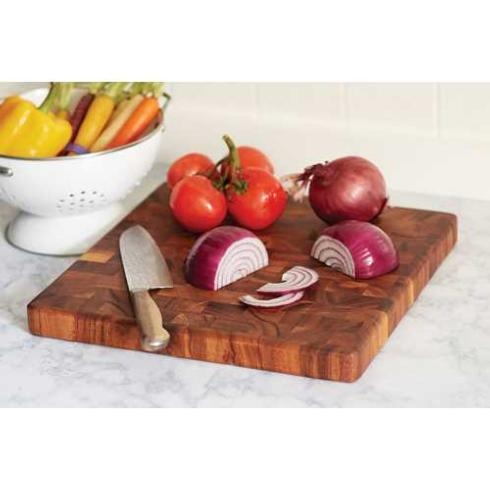 Charleston End Grain Chopping Block, Square collection with 1 products
