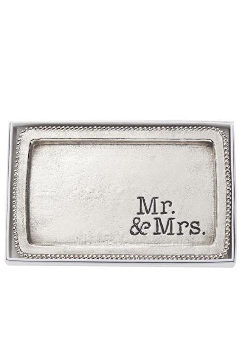 $16.00 Mr. and Mrs. Beaded Tray