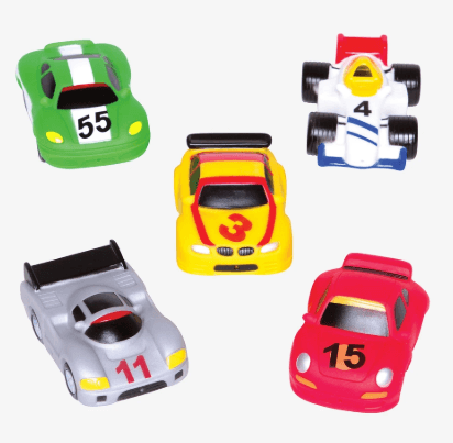 Squirties Race Car Party collection with 1 products