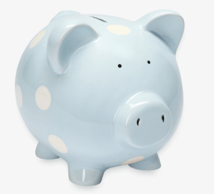 Piggy Bank Classic Dot Blue collection with 1 products