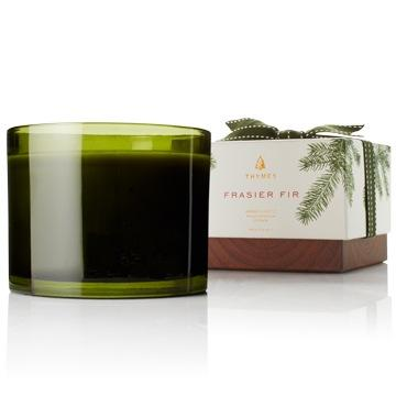 $54.00 Frasier Fir Poured Candle, 3-Wick