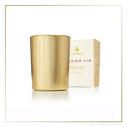 Frasier Fir Gold Votive Candle collection with 1 products
