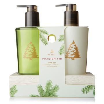 $37.00 Frasier Fir Sink Set