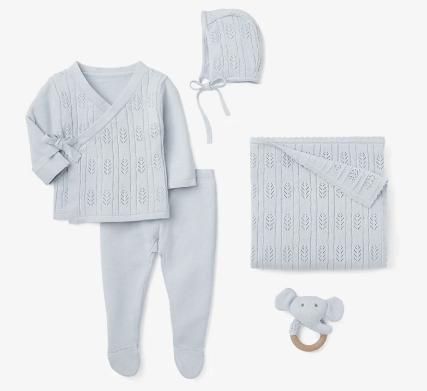 Elegant Baby   Newborn Cloud Blue Set $138.00
