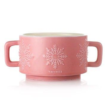 $40.00 Hot Cocoa Large Raspberry Candle 3 Wick