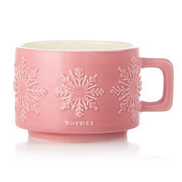 $15.00 Hot Cocoa Raspberry Small Candle Mug