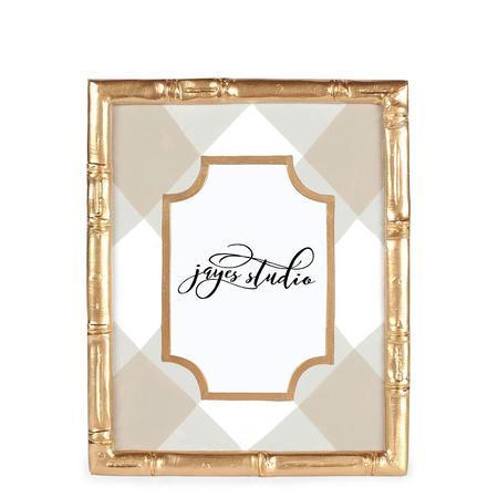 $51.00 Buffalo Plaid Bamboo Frame 4x6