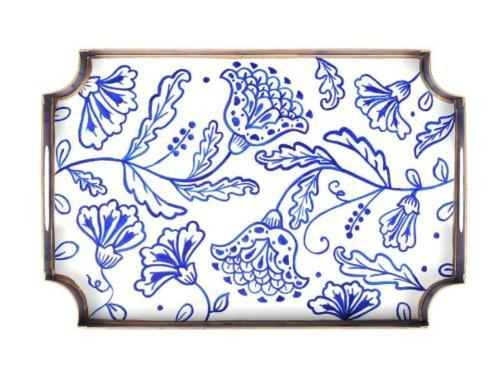 $62.00 Floral Silhouette Jaye Tray