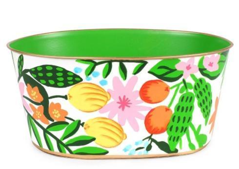 $49.00 Floral Fruit Tub