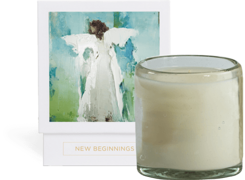 $55.00 Candle- New Beginnings