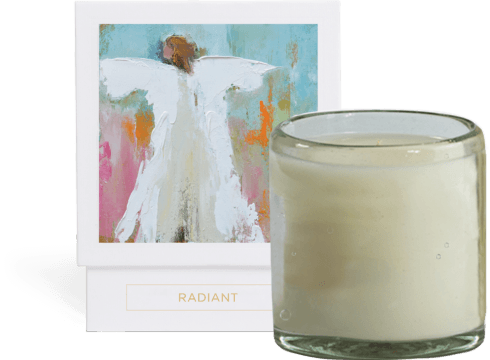 Candle- Radiant collection with 1 products