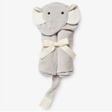 Elegant Baby   Bath Wrap Elephant $36.00