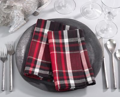 $6.00 Plaid Napkin