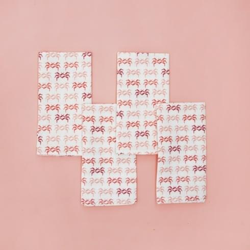 FL Sandcrabs Napkins-Coral collection with 1 products