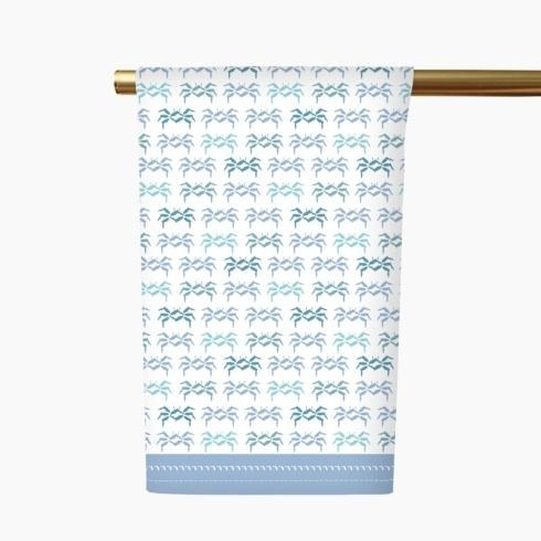 $18.00 FL Sandcrabs Tea Towel