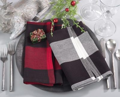 $5.00 Buffalo Plaid Napkin