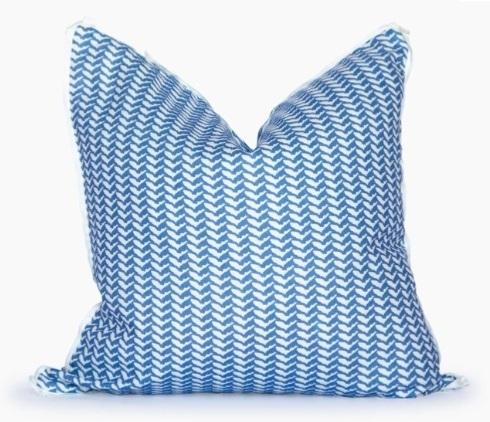 $165.00 FL Herringbone Square Pillow