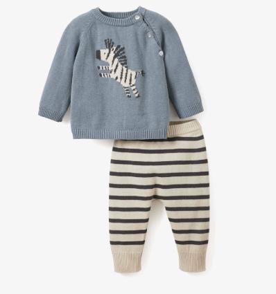 Elegant Baby   Zebra Pant Set- 6m $58.00
