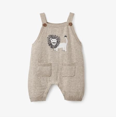 Elegant Baby   Beige Lion Shortall $38.00