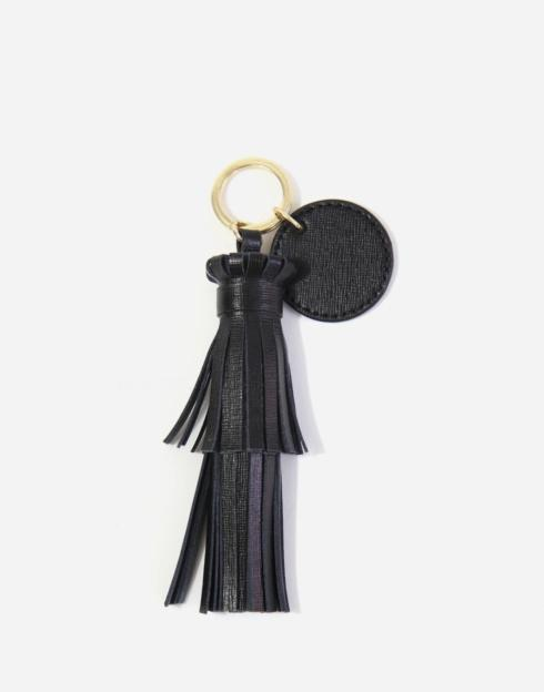 $48.00 The Tassel With Key Ring Tag Pebble