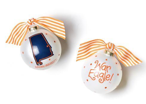 $22.00 Auburn State Ornament