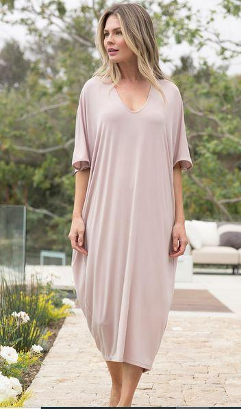 Luxe Milk Jersey Caftan collection with 1 products