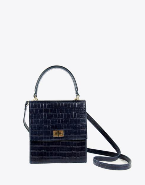 No. 19 The Mini Lady Bag Croc Embossed collection with 1 products